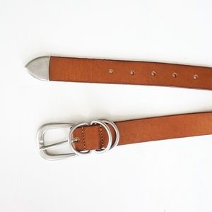 Urban Outfitters Tan Leather Belt Size Medium